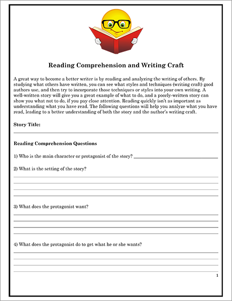 How to Improve Reading Comprehension Essay - Words